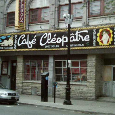 Façade of the Cléopâtre. Photo credit: Wikimedia Commons user Jean Gagnon. 2008. Licence: CC BY-SA 4.0