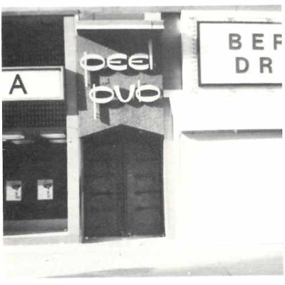 Façade of the Peel Pub. Source: Ciao!, june 1973. Collection of the Archives gaies du Québec.